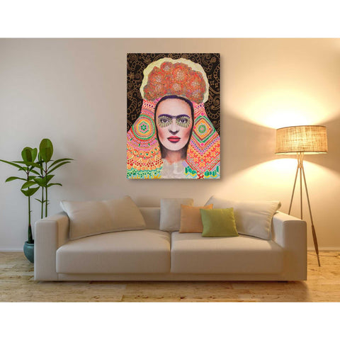 Image of 'Frida Santa Muerte' by Surma and Guillen, Giclee Canvas Wall Art