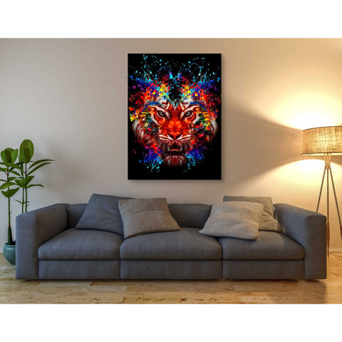 Image of 'Dubtiger' Canvas Wall Art,40 x 54