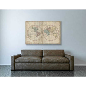 'Old World Eastern Western' by Wild Apple Portfolio, Giclee Canvas Wall Art
