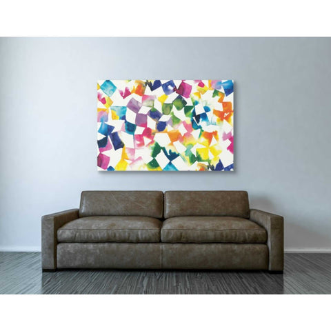 'Colorful Cubes' by Wild Apple Portfolio, Canvas Wall Art,40 x 60
