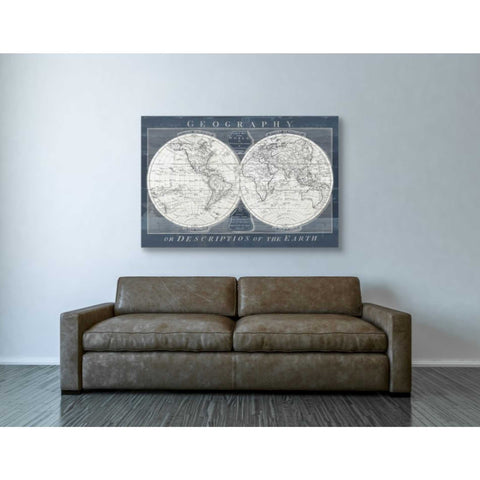 Image of 'Old World Globe' by Wild Apple Portfolio, Canvas Wall Art,40 x 60