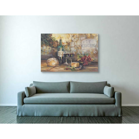 "Image of ""Le Chateau"" by Marilyn Hageman, Giclee Canvas Wall Art"