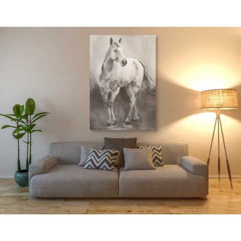 'Copper And Nickel White Grey' by Marilyn Hageman, Giclee Canvas Wall Art