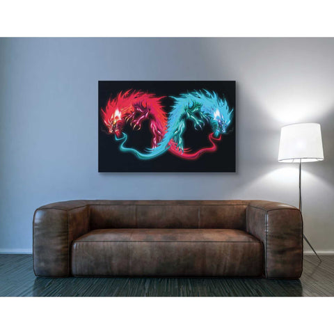 'Double Dragon' by Michael StewArt, Giclee Canvas Wall Art