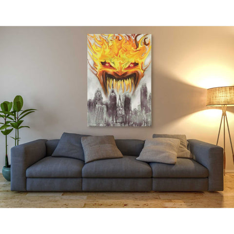 """Trial By Fire"" by Michael Stewart, Giclee Canvas Wall Art"