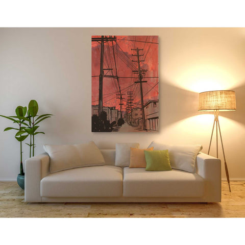 Image of 'Wires 3' by Giuseppe Cristiano, Giclee Canvas Wall Art