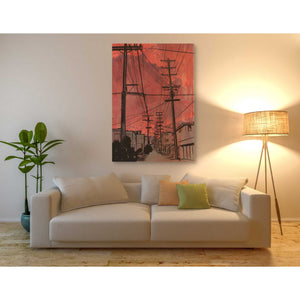 'Wires 3' by Giuseppe Cristiano, Giclee Canvas Wall Art
