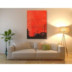 'Cars 12' by Giuseppe Cristiano, Giclee Canvas Wall Art
