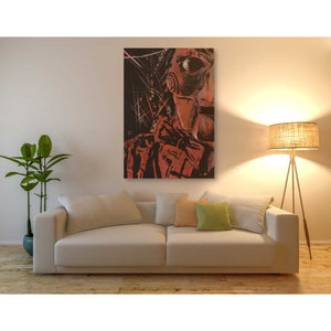 'Saw' by Giuseppe Cristiano, Giclee Canvas Wall Art