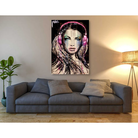 Image of 'DJ' by Loui Jover, Giclee Canvas Wall Art