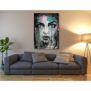 'New Muse' by Loui Jover, Canvas Wall Art,40 x 60
