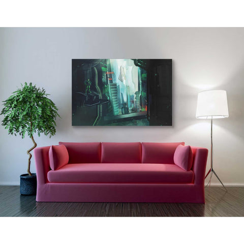 'Digital Age' by Jonathan Lam, Giclee Canvas Wall Art