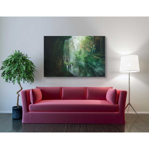 'Dragon Valley' by Jonathan Lam, Giclee Canvas Wall Art
