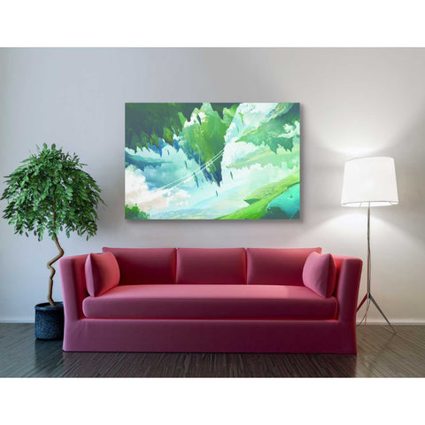 Image of 'Floating Island' by Jonathan Lam, Giclee Canvas Wall Art