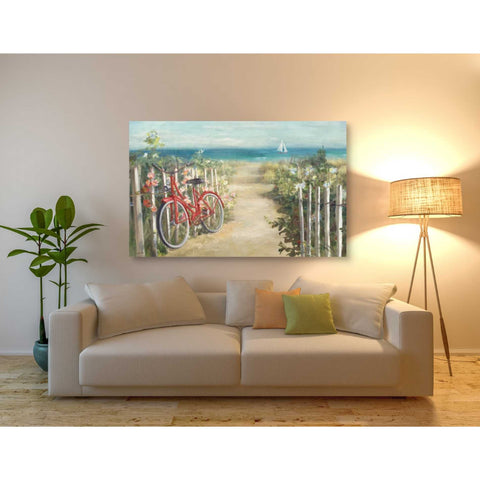 'Summer Ride Crop' by Danhui Nai, Giclee Canvas Wall Art