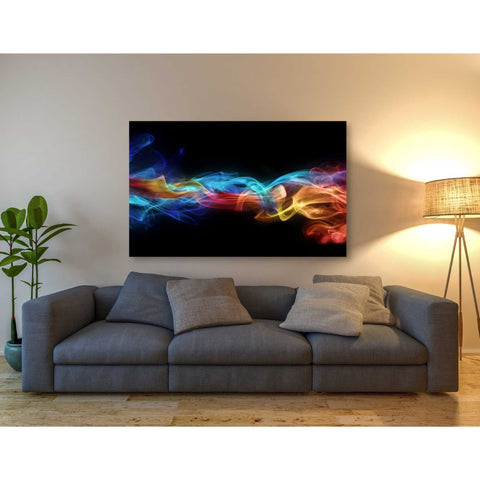 'Dynamic Haze' Giclee Canvas Wall Art