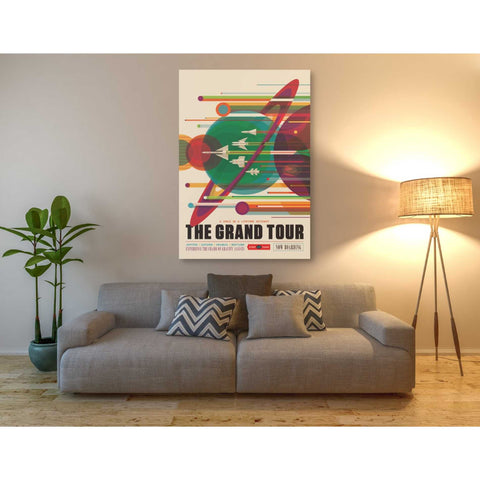 "Image of ""Visions of the Future:The Grand Tour"" Giclee Canvas Wall Art"
