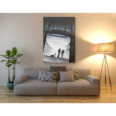 'Visions of the Future: Ceres' Canvas Wall Art,40 x 60