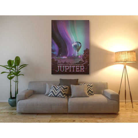 'Visions of the Future: Jupiter' Canvas Wall Art,40 x 60