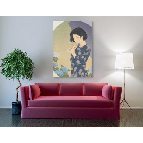 'Ajisai' by Sai Tamiya, Giclee Canvas Wall Art