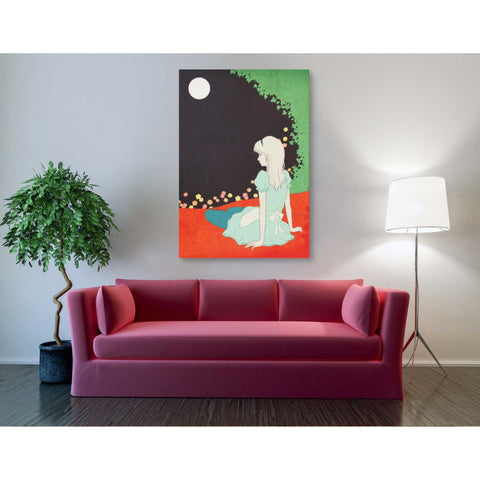 'Alice in the Moonlight' by Sai Tamiya, Giclee Canvas Wall Art