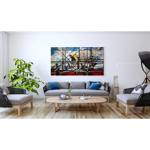 'FOUR CORNERS' by DB Waterman, Giclee Canvas Wall Art
