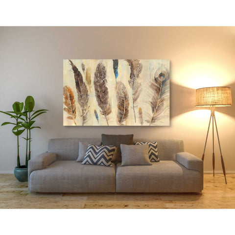 Image of 'Feather Study' by Albena Hristova, Canvas Wall Art,60 x 40