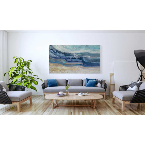 Image of 'Currents' by Albena Hristova, Giclee Canvas Wall Art