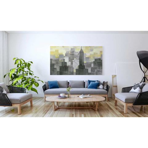 Image of 'City Blocks Neutral' by Albena Hristova, Giclee Canvas Wall Art