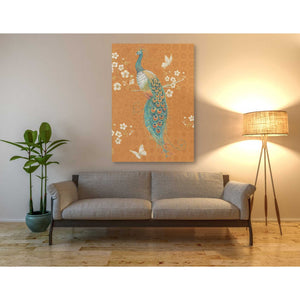 'Ornate Peacock X Spice' by Daphne Brissonet, Giclee Canvas Wall Art