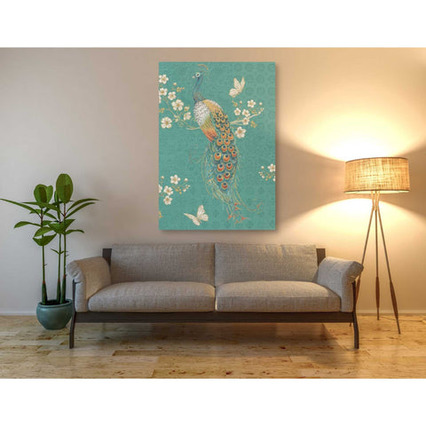 'Ornate Peacock XD' by Daphne Brissonet, Giclee Canvas Wall Art