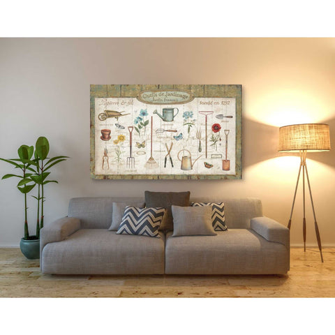 'Royal Garden I' by Daphne Brissonet, Giclee Canvas Wall Art