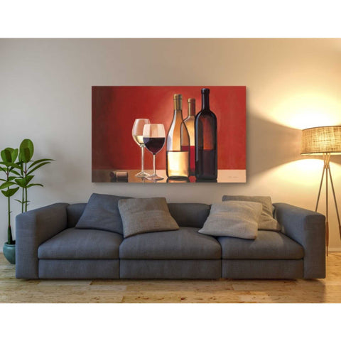 Image of 'Wine Trio' by Marco Fabiano, Giclee Canvas Wall Art