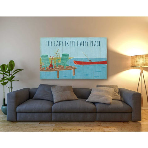 'Lake Pals II' by Veronique Charron, Giclee Canvas Wall Art