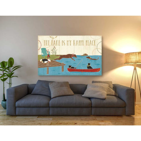 'Lake Pals I' by Veronique Charron, Giclee Canvas Wall Art