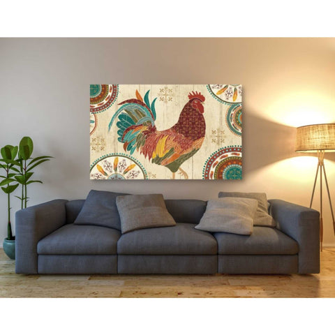'At the Barn I' by Veronique Charron, Giclee Canvas Wall Art