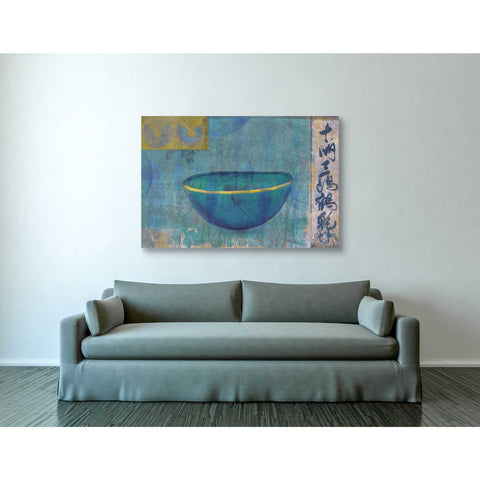 Image of 'Blue Bowl' by Elena Ray Canvas Wall Art,40 x 60