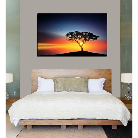 Image of 'The Soft Twilight' Canvas Wall Art,40 x 60