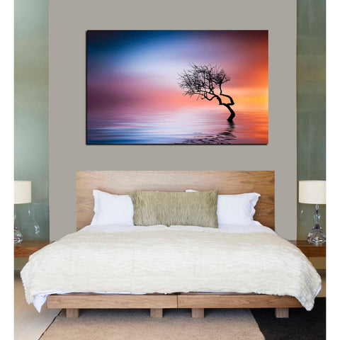 "Image of ""Growing Reflections"" Giclee Canvas Wall Art"