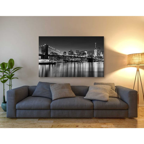 'Silver City Crop' by Katherine Gendreau, Giclee Canvas Wall Art