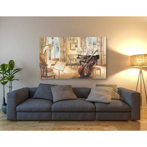'My Sons Cello' by Marilyn Hageman, Giclee Canvas Wall Art