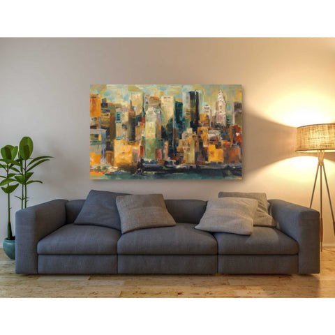 Image of 'New York New York' by Marilyn Hageman, Giclee Canvas Wall Art
