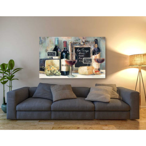 'Les Fromages' by Marilyn Hageman, Giclee Canvas Wall Art
