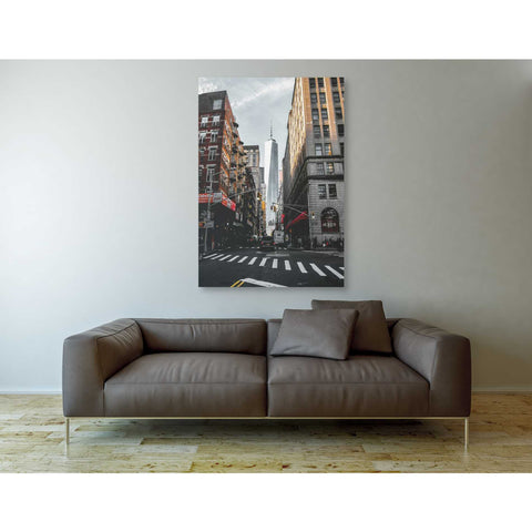 "Image of ""Lower Manhattan"" by Nicklas Gustafsson, Giclee Canvas Wall Art"