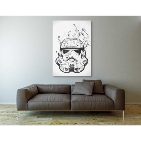 """Flower Trooper"" by Nicklas Gustafsson, Giclee Canvas Wall Art"