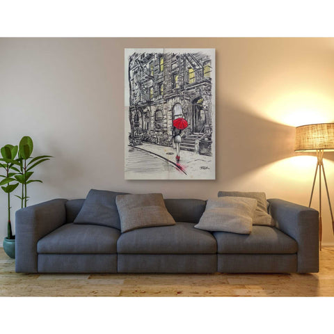 Image of 'Burrough Walk' by Loui Jover, Canvas Wall Art,40 x 60