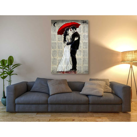 Image of 'Some Rainy Night' by Loui Jover, Canvas Wall Art,40 x 60