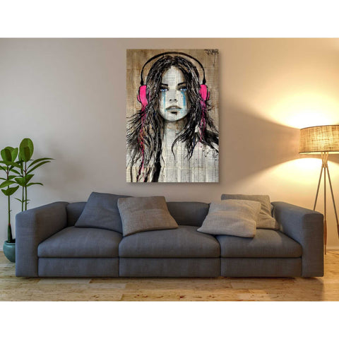 Image of 'Wired for Sound' by Loui Jover, Canvas Wall Art,40 x 60