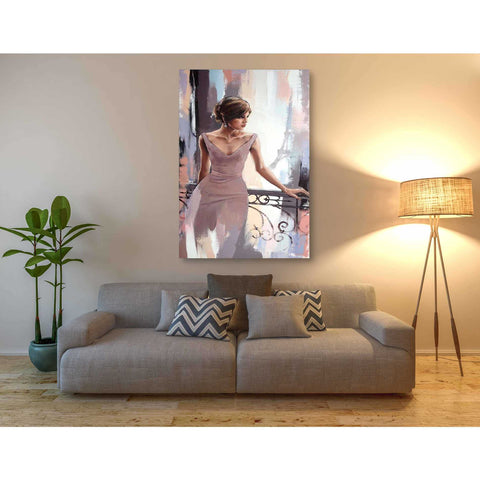 Image of 'Evening in Paris' by Alexander Gunin, Giclee Canvas Wall Art