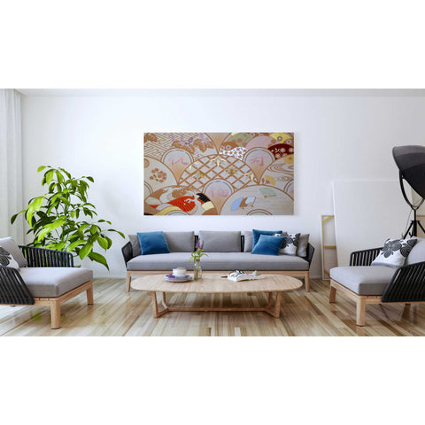 Image of 'Happy Design A' by Zigen Tanabe, Giclee Canvas Wall Art